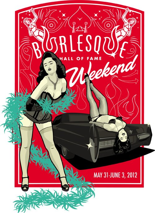 Burlesque Hall Of Fame on facebook